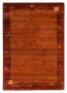haute-qualite-Tapis-Gabbeh-179-x-122-cm-rouille-noue-a-la-main-laine-12462