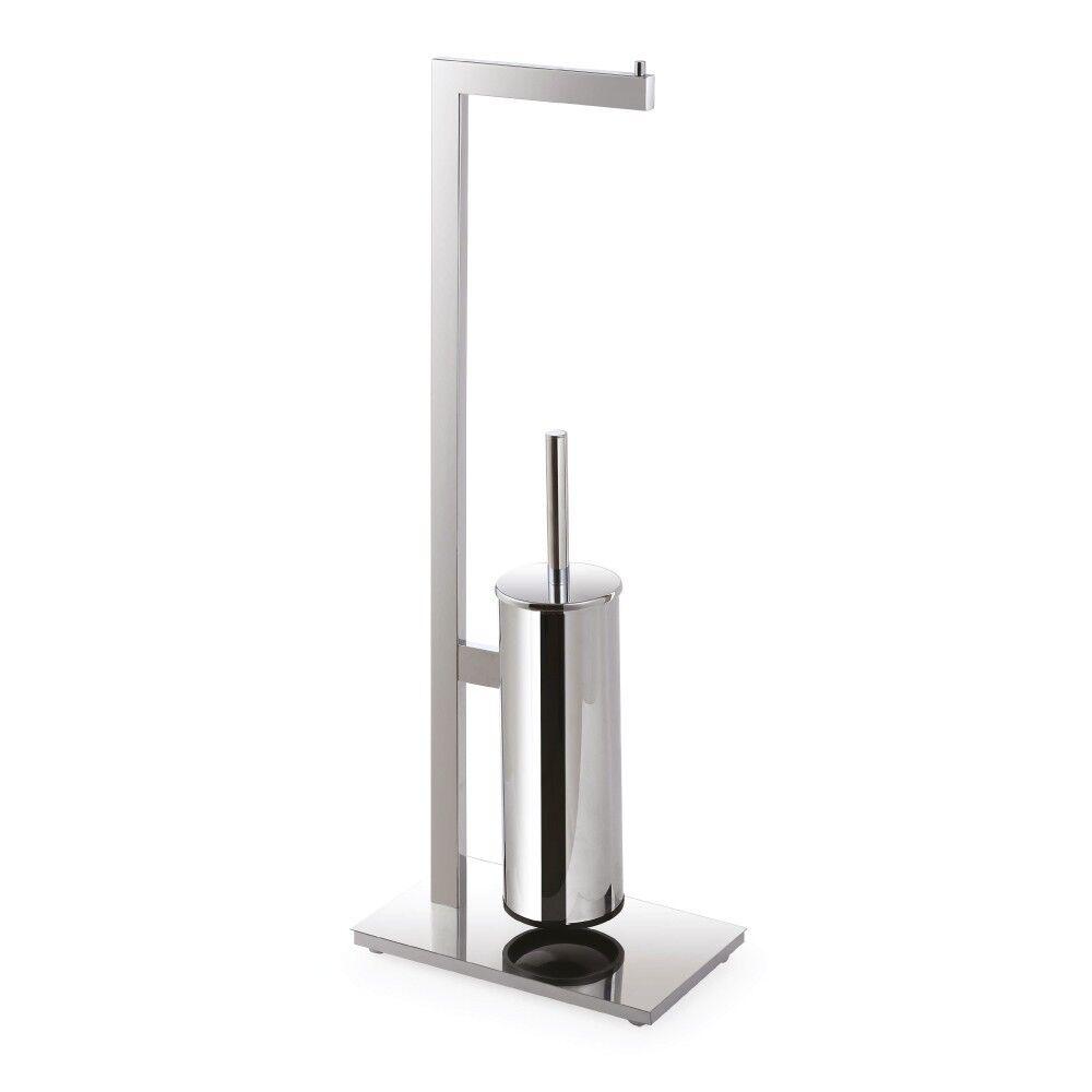 Handtuchhalter dreifach WC_Bürstengarnitur 150x710x255mm 150x710x255mm 150x710x255mm Chrom Badartikel Bad | Elegant und feierlich  612447
