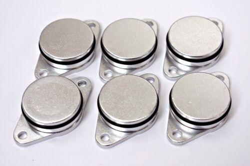 6 x bmw swirl flap bungs d/'obturation de Remplacement 33 mm 320 330 520 530 525 535 730 d