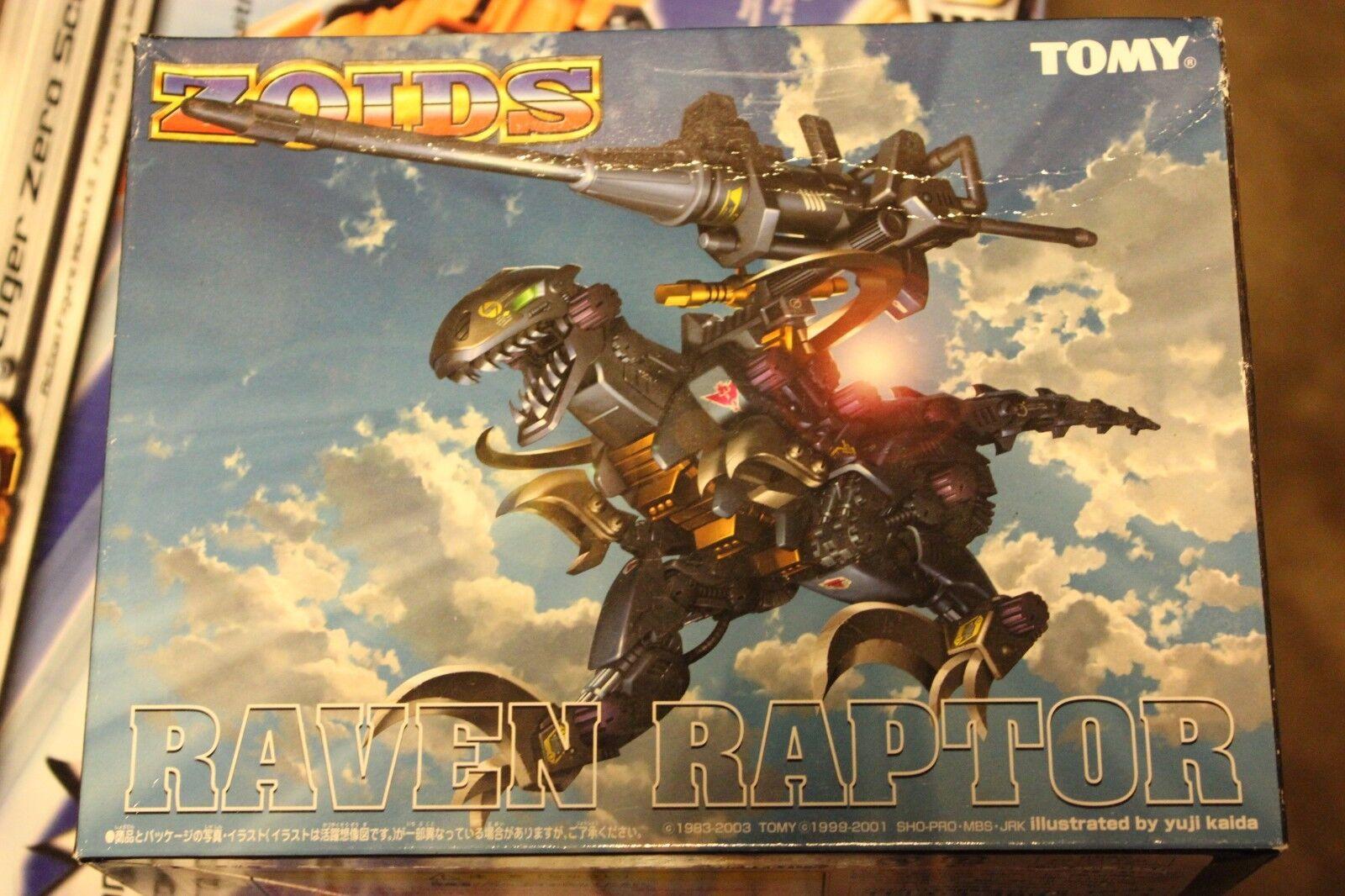 Zoids Limitada Yuji Kaida Raven Raptor Menta en caja (con CP-08 Pila bunker).