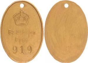 Eingeborenen Passmarke, Bz.gibeon Pass Aprox. 1910 Kolonien:
