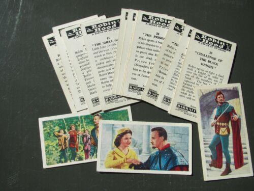 1960/'s cards * Choose Which You Need *  Tarzan Sea Hunt Robin Hood Barratt