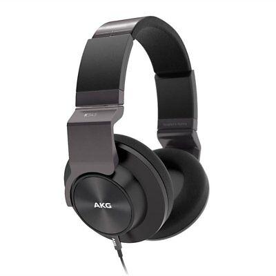 AKG K545 BLK Studio-Quality, Closed-Back, Over the Ear Headphones Black K545BLK