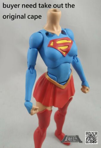 No Figure Red Cape for DC ICONS Super Girl
