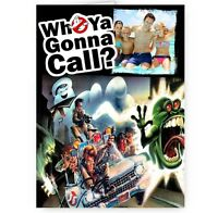 Personalised Photo Added A5 Ghostbusters A5 All Occasions Card