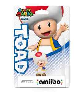 Details About Amiibo Toad Nintendo Us Version Mario Party 10 Brand New
