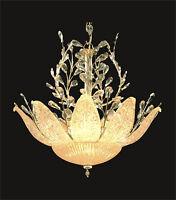Beautiful Gold Pendant +murano Glass 12-light Contemporary Ceiling D26 X H25