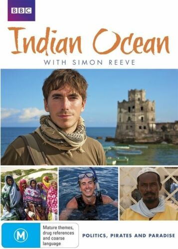 1 of 1 - Indian Ocean with Simon Reeve [Region 4] - DVD - Aus Seller - Free Shipping.