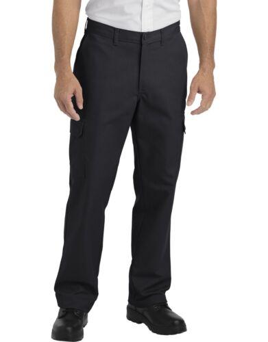 Dickies Mens Black Industrial Relaxed Fit Straight Leg Cargo Pants LP600BK