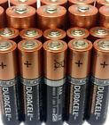 30 AA + 20 AAA Alkaline Duracell Batteries 1.5v Single Use 50 Total Battery Lot