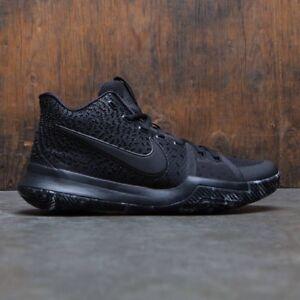 4f319c596c23 Nike Kyrie 3 Triple Black Marble Size 9.5. 852395-005 jordan kobe