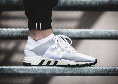 NEW Adidas EQT Support RF PK Mens Running Shoes Off White Black PRIMEKNIT BA7507 | eBay