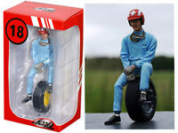 Jo Siffert 1963 Figure With Tire Figurine 1/18 By Lemans Miniatures 180012