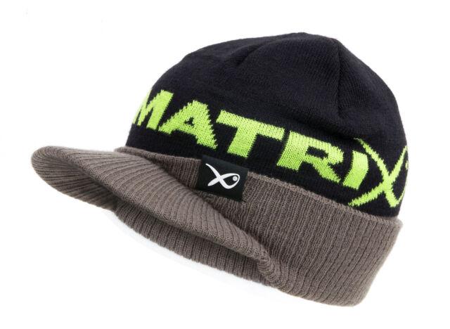 Fox Matrix Peaked Beanie GPR150 Mütze Schirmmütze Angelmütze Wintermütze