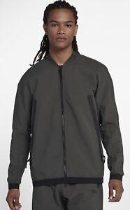 Détails sur Nike Sportswear Tech Pack Homme Tissé Tech Fleece Sweat à capuche veste neuf avec étiquettes SML afficher le titre d'origine