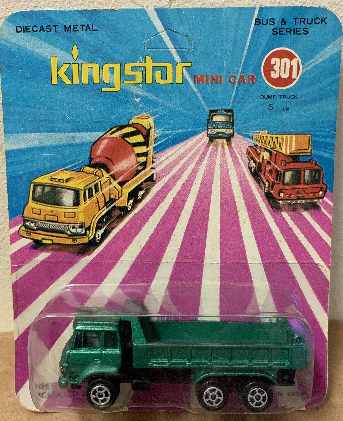 King Star Mini Voiture 301 RARE Diecast camion Fuso FU112 1 100 Corée vintage