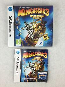 Madagascar 3 Bons Baisers Europa Ds Juego Nintendo Ds Ds Lite