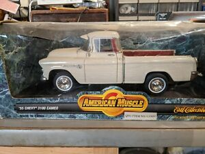 American Muscle 1:18 Scale '55 Chevy 3100 Cameo - ERTL Collectibles. 9732
