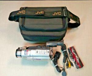 Jvc Gr Sxm740u Super Vhs C Camcorder Compact 600x Digital Zoom Case For Parts Ebay