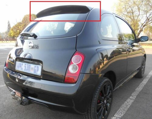 NISSAN MICRA K12 SPORT REAR ROOF SPOILER NEW