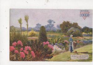 A-Hampshire-Garden-Near-Brockenhurst-Tuck-Postcard-528a