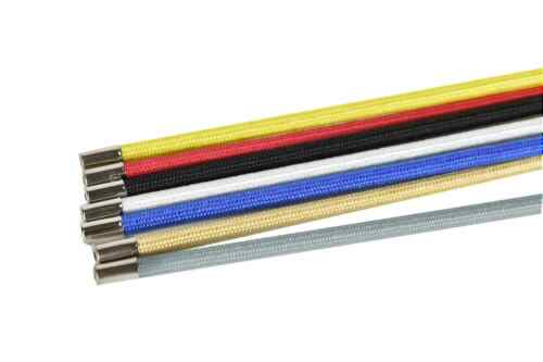 vintage style Traditional braided brake cable housing various colours
