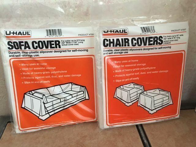 Sofa Cover 2 Durable Plastic Chair
