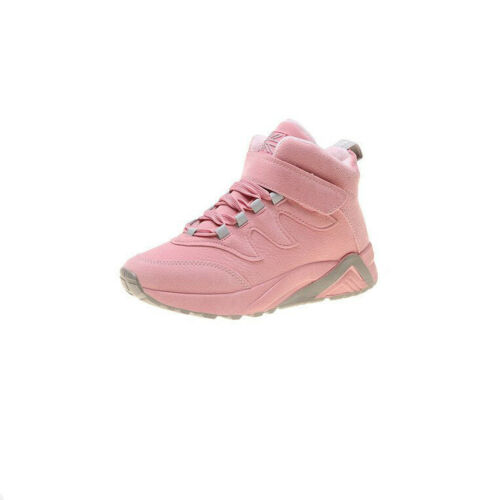 Femme Sport Bottines Plate Chaussures Bout rond lacets en cuir synthétique Casual Running
