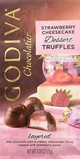 Godiva Chocolatier Strawberry Cheesecake Dessert Truffles Net Wt. 4.25 oz