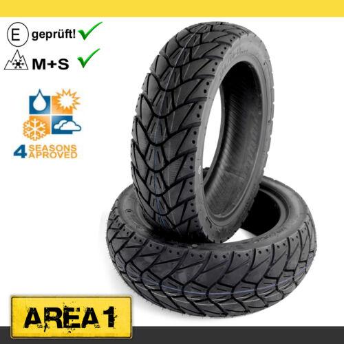 Allwetter Reifen Set Kenda K415 Keeway Focus 125 120//70+130//70