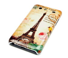 Hülle f Samsung Galaxy S Advance i9070 Schutzhülle Tasche Case Paris Eiffelturm