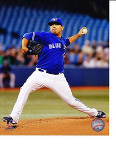 Toronto Blue Jays 8x10 Picture Photo MLB Baseball Ricky Romero Home Pitching New