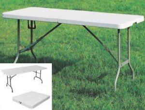 Tavoli tavolo da giardino e campeggio con gambe pieghevole cm
