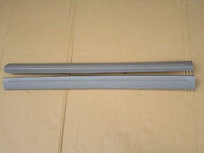 2PCS Brush Aluminum Door Step Scuff Plate Sill Cover Panel Trim SVT LIGHTNING
