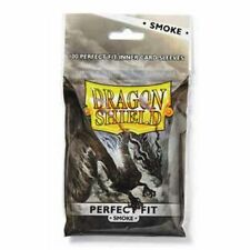 SIDE LOAD Dragon Shield 100 -Perfect Fit Deck Protector Sleeves -Smoke- MTG