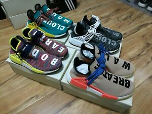 9e363cc08c8df Adidas Nmd Hu Pharrell Williams PW Human Race HU UK10.5 US11 Boost ...