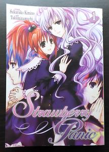 """""""Strawberry Panic"""" Volume 01 by Sakurako Kimino & Takuminamuchi (YURI Manga)"""