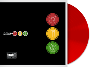 Blink 182 - Take off your pants & Ja Exclusive Limited Red Vinyl LP NEU OVP