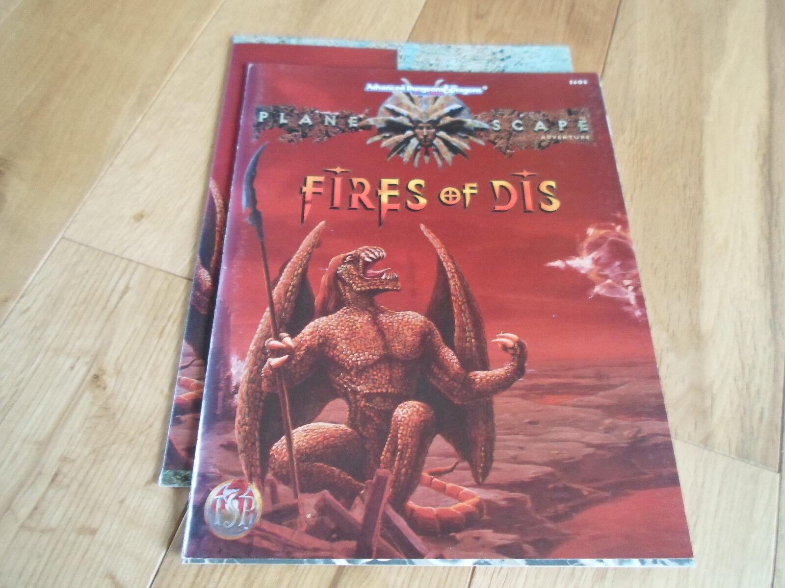 AD&D PLANESCAPE Fires of Dis (NR MINT)