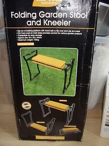 Folding Garden Stool and Kneeler - Uxbridge, United Kingdom - Folding Garden Stool and Kneeler - Uxbridge, United Kingdom