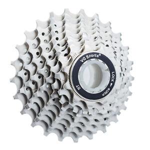 VG-Sports-10-Speed-11-25T-28T-32T-Road-Bike-Silver-Cassette-fit-Shimano-HG500-US
