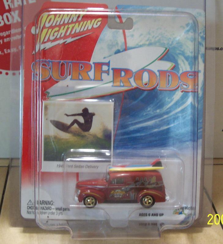 Johnny Lightning 41 Ford Sedan Delivery WHITE LIGHTNING Super RARE