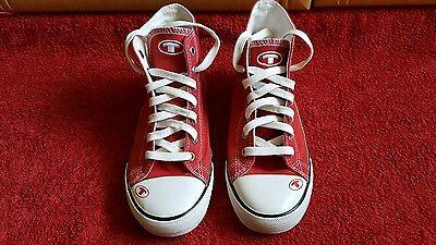 Schuhe Gr.35 von Tom Tailor in rot/weiß