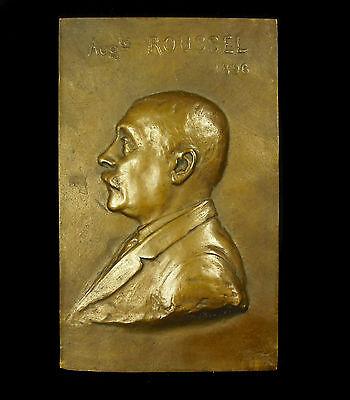 Medaille Xix E 1896 Auguste Roussel Par Eugène Damon éleve De F Levillain Medal Aromatisch Karakter En Aangename Smaak