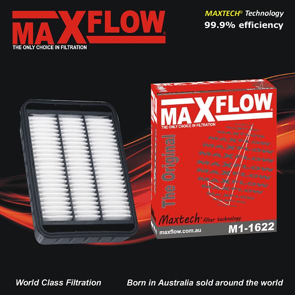 For Mitsubishi Lancer CJ AIR FILTER ~ Turbo 2.0 4B11 MIVEC AIR FILTER ~ Maxflow®