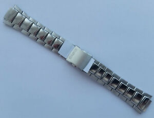 Genuine-Replacement-Watch-Band-14mm-Stainless-Steel-Bracelet-Casio-AQ-180WD-1B