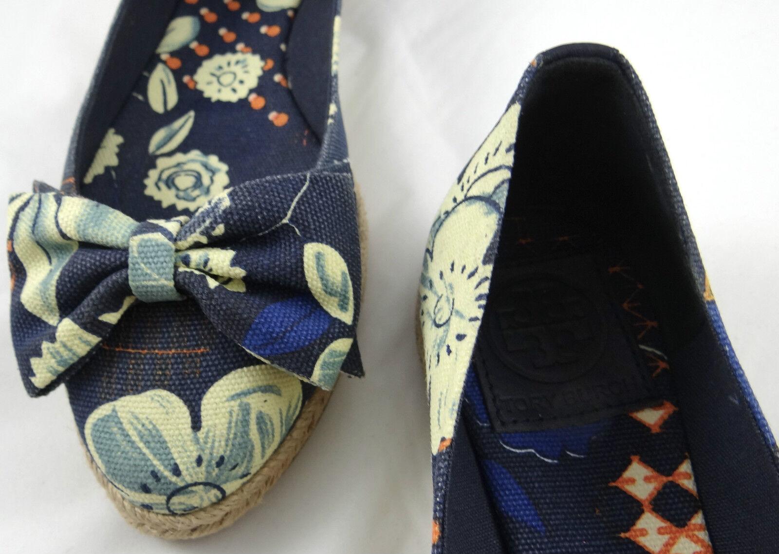 Tory Burch Tamsin Alpargatas Sin 5-11 Cordones Zapatos Planos 5-11 Sin f43e58