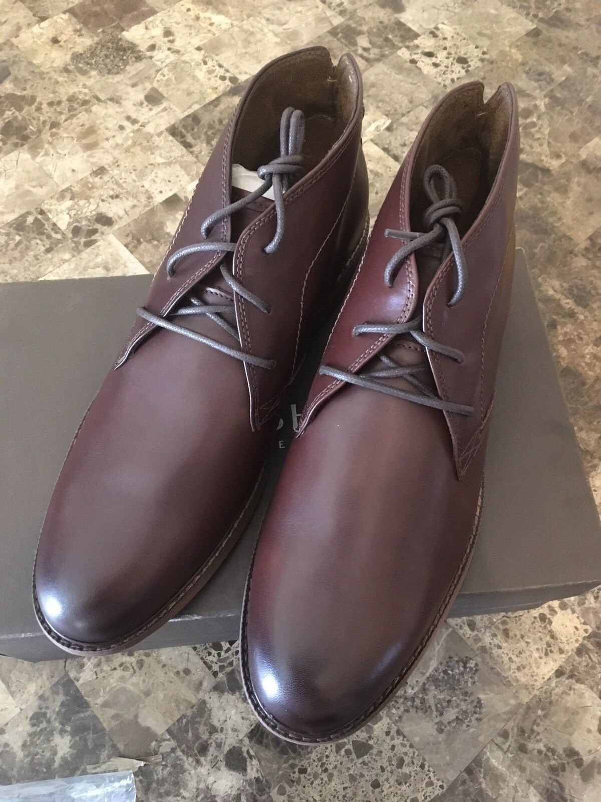 Florsheim Men's Doon Chukka Lace-Up Boot Leather Brown Men's Size 13 New In Box