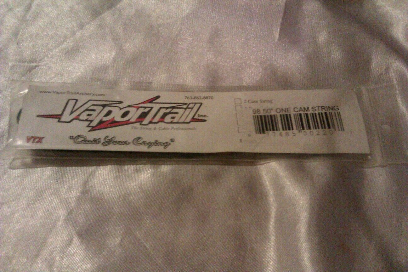 VAPOR TRAIL STRINGS & CABLES ONE CAM STRING 98.50  ARCHERY STRING