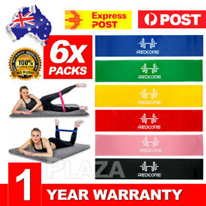 6PCS-Resistance-Bands-Power-Heavy-Strength-Exercise-Fitness-Gym-Crossfit-Yoga-AU